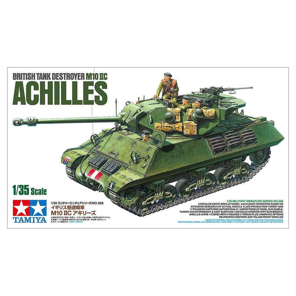 【新製品】35366 イギリス駆逐戦車 M10 IIC アキリーズ