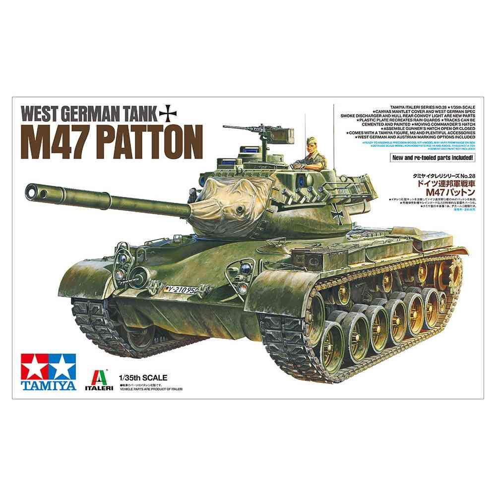 【新製品】37028 ドイツ連邦軍戦車 M47パットン