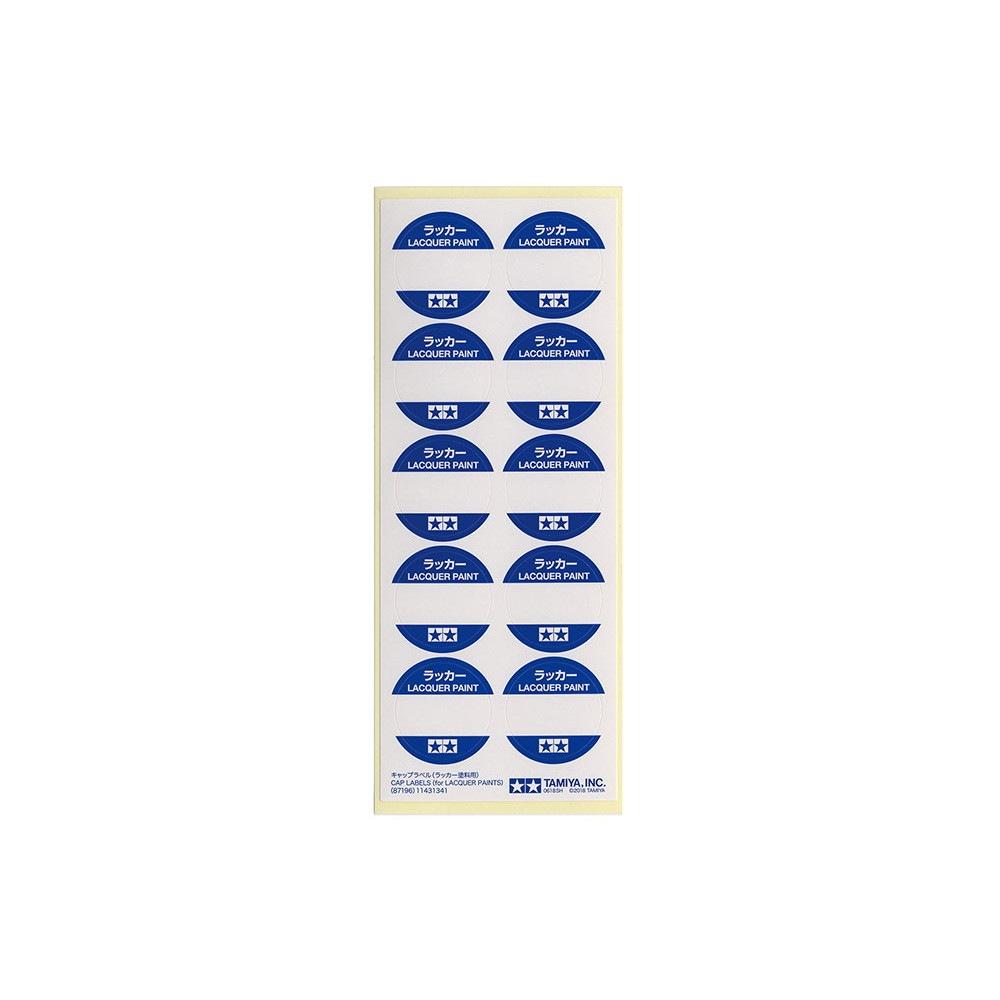【新製品】87196 キャップラベル(ラッカー塗料用)