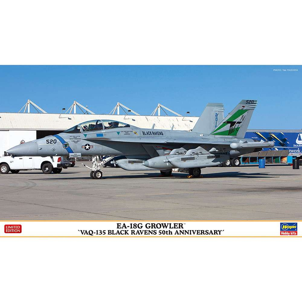 """【新製品】02351 EA-18G グラウラー """"VAQ-135 ブラック レイブンズ 50周年記念"""""""