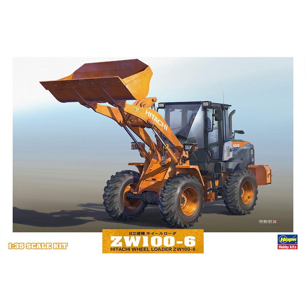 【新製品】66004 日立建機 ホイールローダ ZW100-6