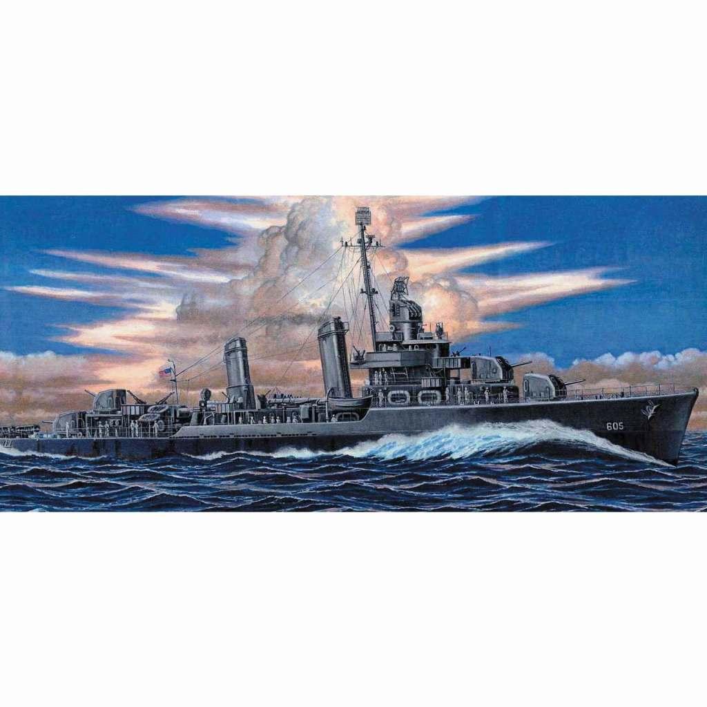 【新製品】W212 アメリカ海軍 ベンソン級駆逐艦 DD-605 コールドウェル