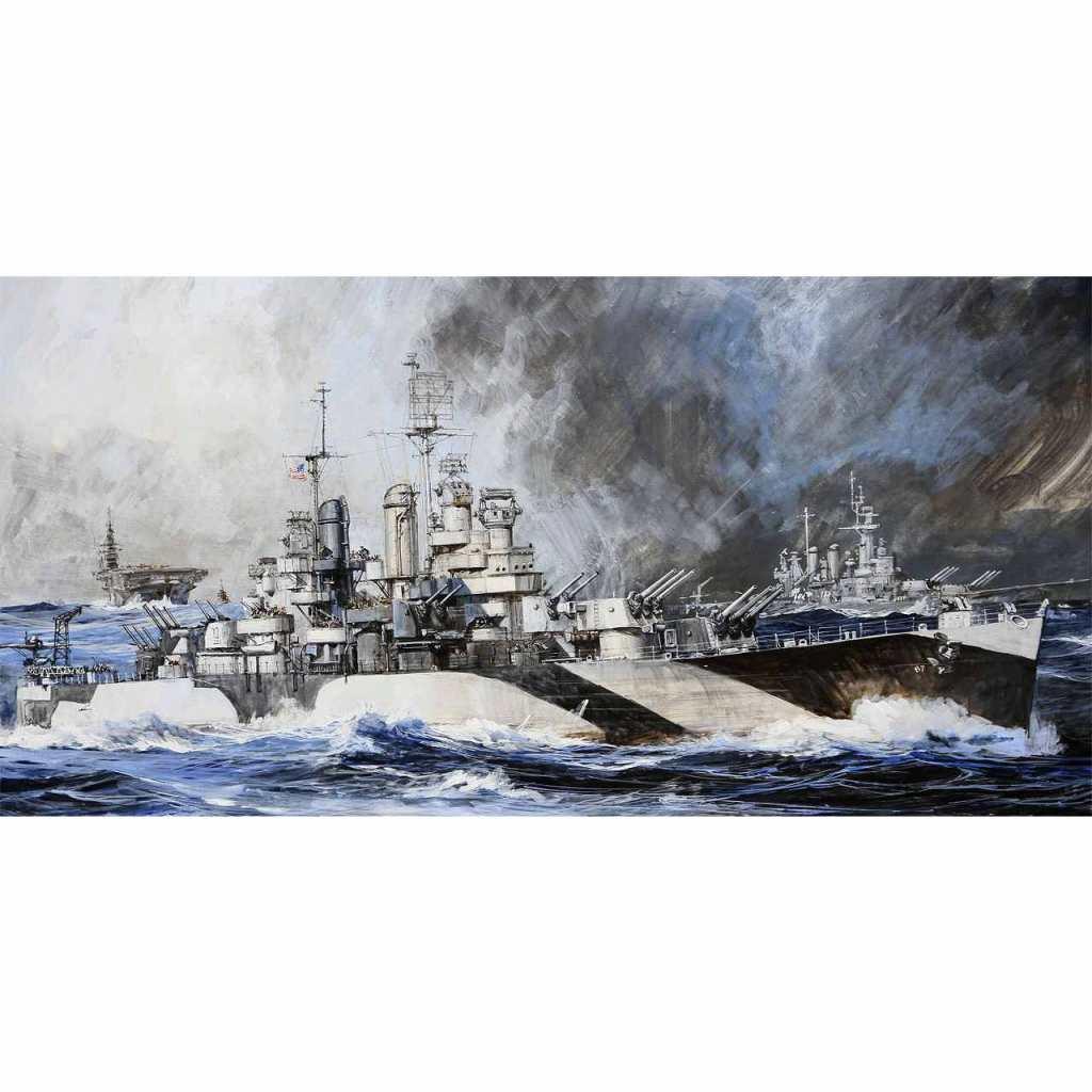 【新製品】W209 アメリカ海軍 軽巡洋艦 CL-89 マイアミ