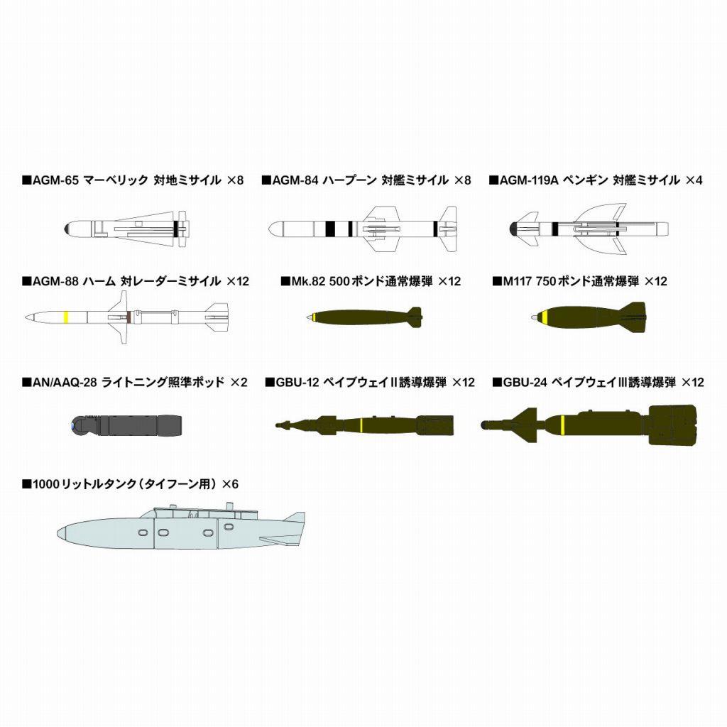 【新製品】SNW03 1/144 現用エアクラフトウェポンセット 3