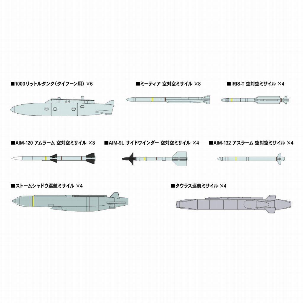 【新製品】SNW04 1/144 現用エアクラフトウェポンセット 4