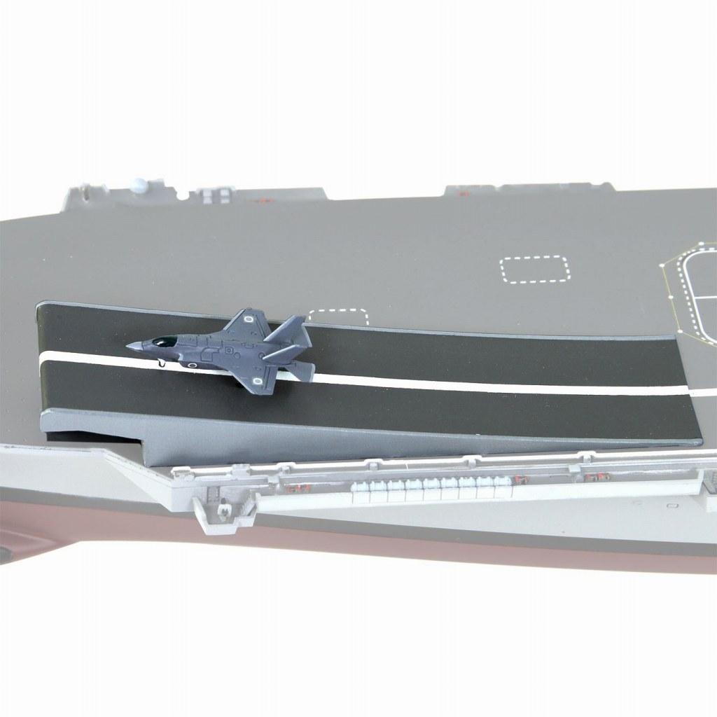 【新製品】JPW01 スキージャンプ甲板 & F-35B セット