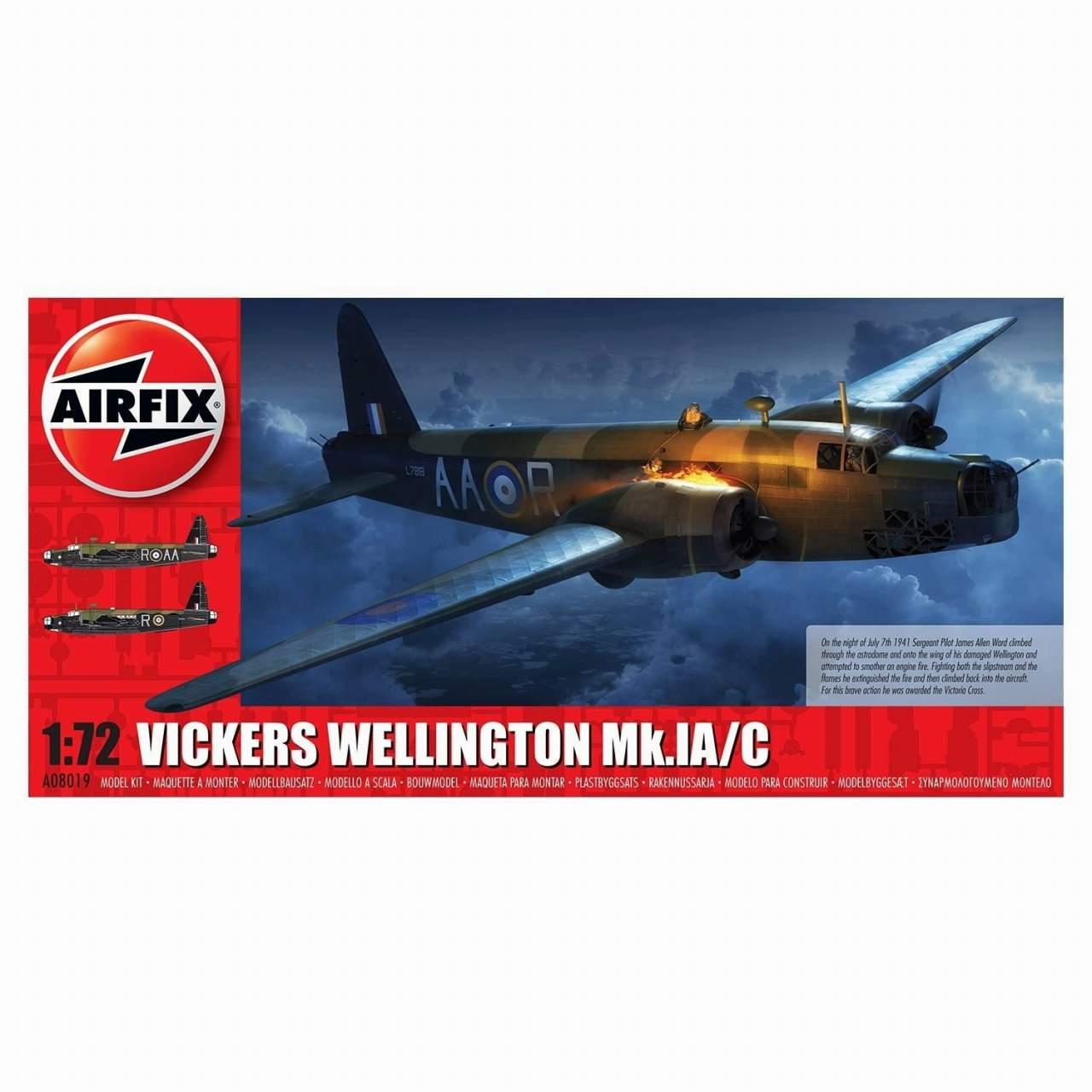【新製品】A08019 ヴィッカース ウェリントン Mk.IA/C