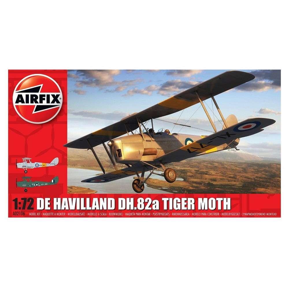 【新製品】A02106 デ・ハビランド DH.82a タイガーモス