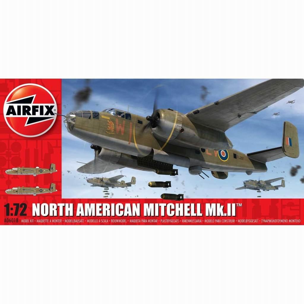 【新製品】A06018 ノースアメリカン ミッチェル Mk.II