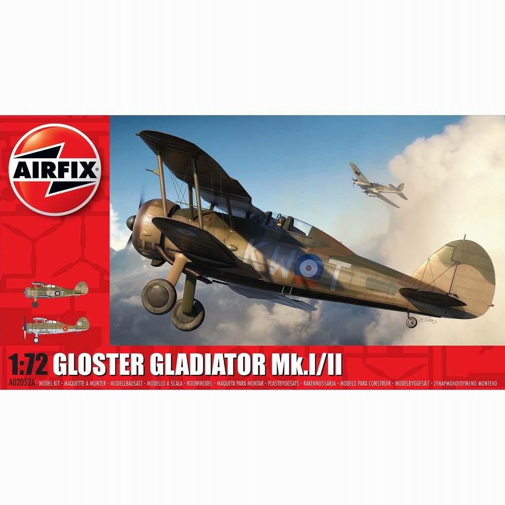 【新製品】A02052A)グロスター グラジエーター Mk.I/II
