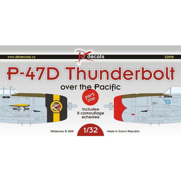 【新製品】DKデカール 32010 リパブリック P-47D サンダーボルト 太平洋戦線