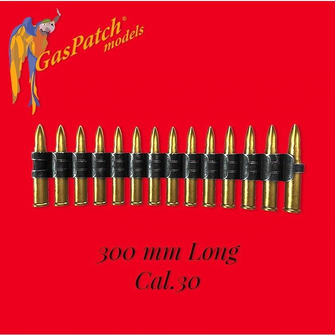 【新製品】19-48143 7.62mm(30口径)機関銃 弾薬ベルト(長さ300mm)