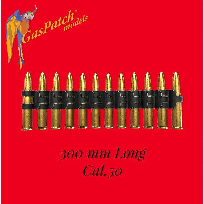 【新製品】19-48144 12.7mm(50口径)機関銃 弾薬ベルト(長さ300mm)