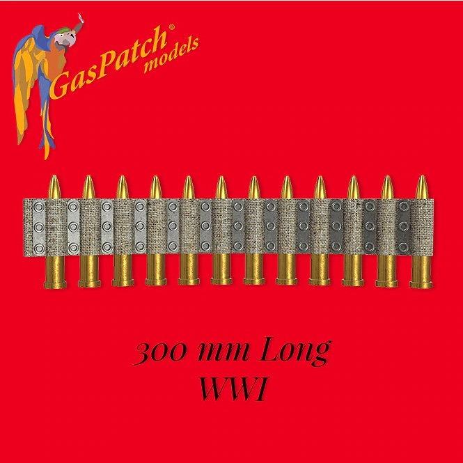 【新製品】19-48145 WWI 機関銃 弾薬ベルト(長さ300mm)