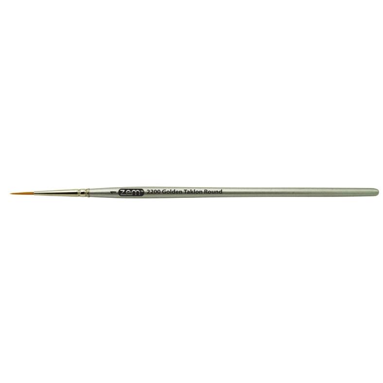 【新製品】2200-1 ゴールデンタクロン(ナイロン)ブラシ 1号 丸筆