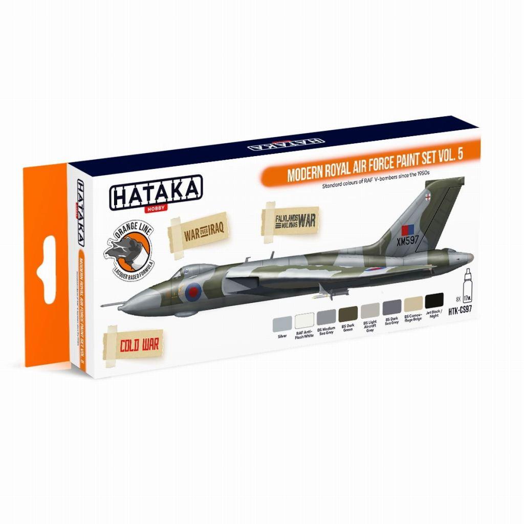 【再入荷】HTK-CS97 現用 イギリス空軍 Vol.5 ラッカーカラー8本セット