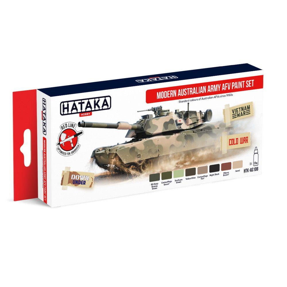 【新製品】HTK-AS108 現用 オーストラリア陸軍 水性アクリルカラー8本セット