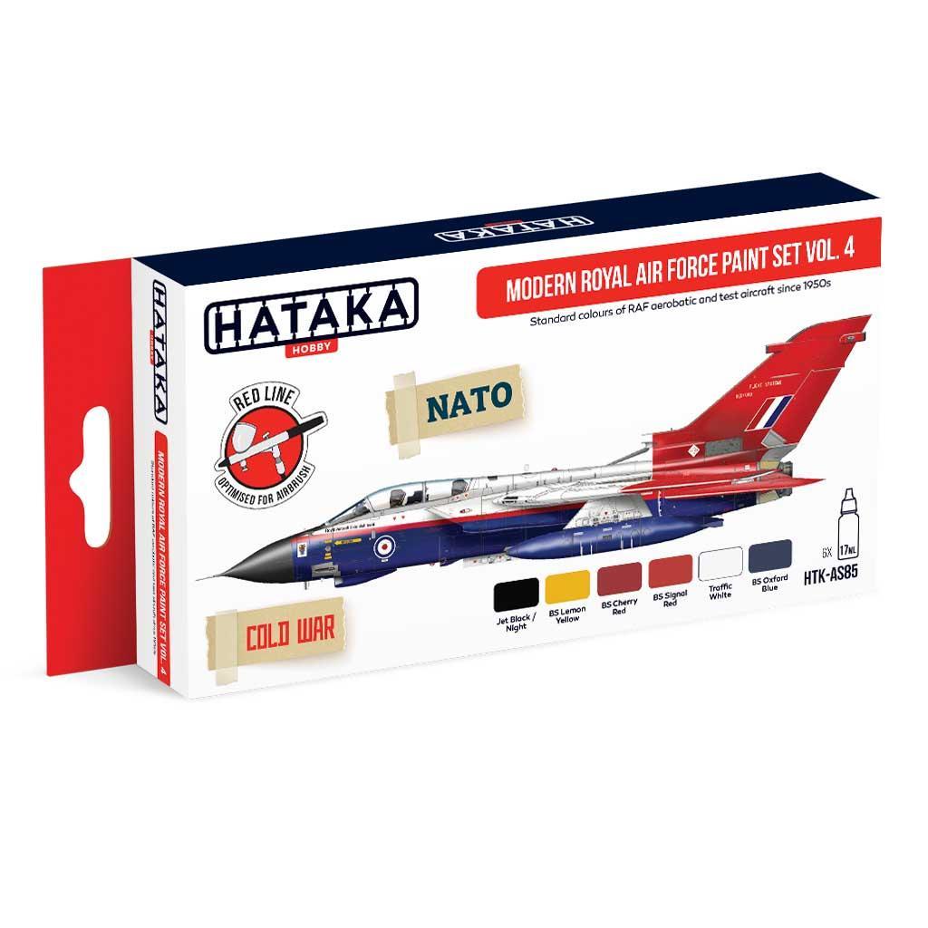 【再入荷】HTK-AS85 現用 イギリス空軍 Vol.4 水性アクリルカラー6本セット