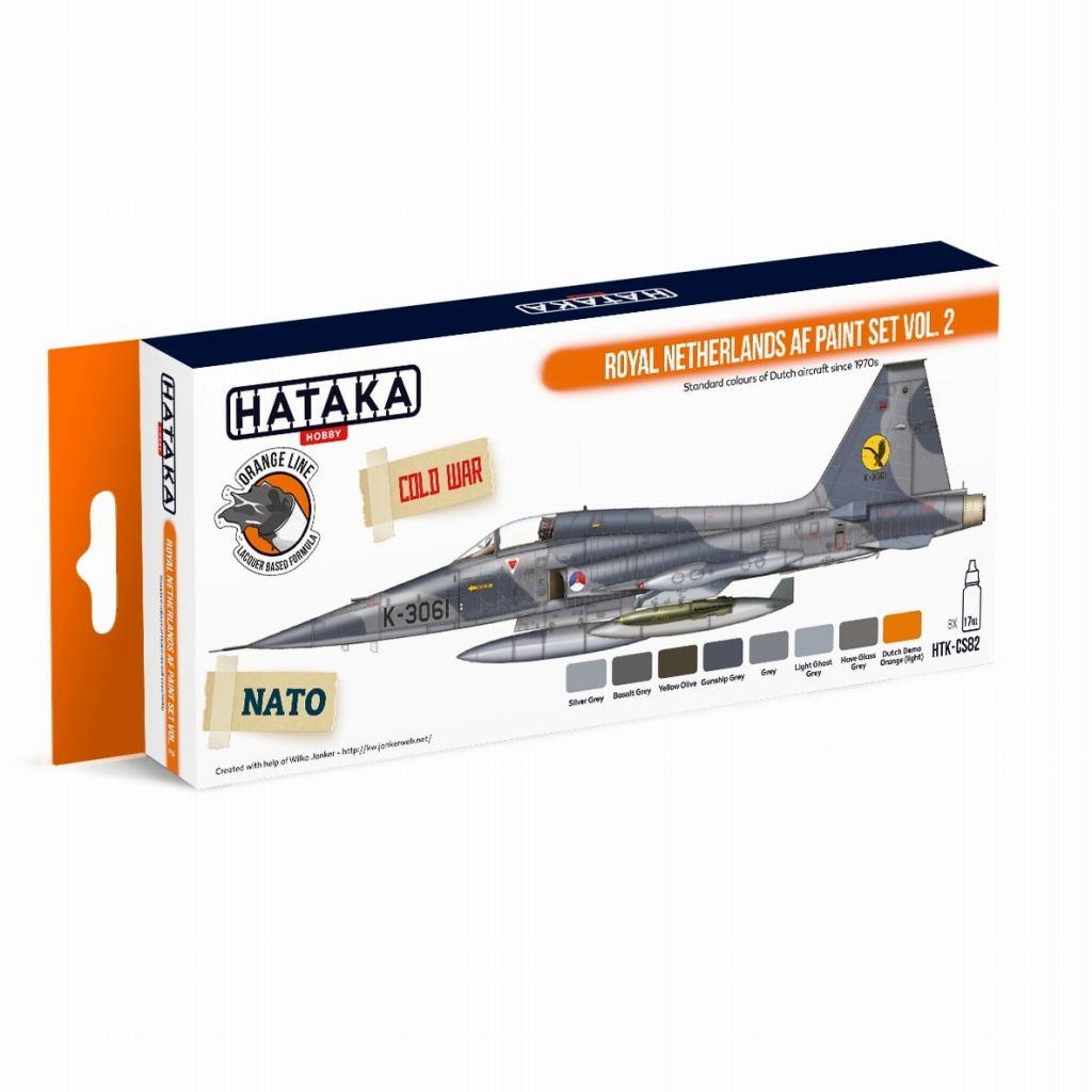 【再入荷】HTK-CS82 オランダ空軍 Vol.2 ラッカーカラー8本セット