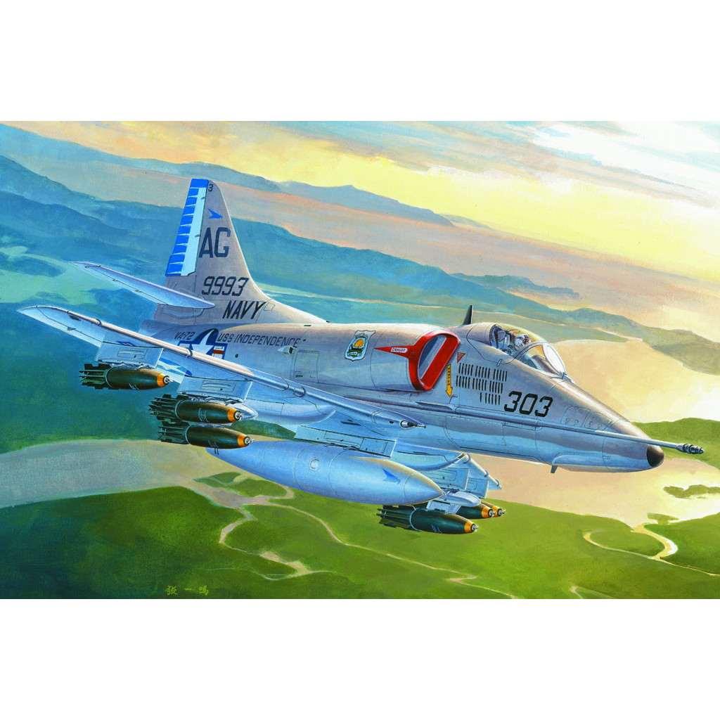 【新製品】87254 A-4E スカイホーク