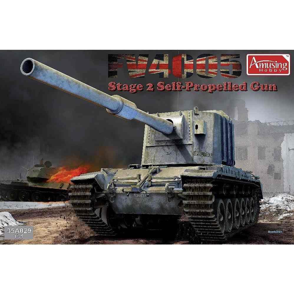 【新製品】35A029 イギリス重対戦車自走砲 FV4005 Stage2