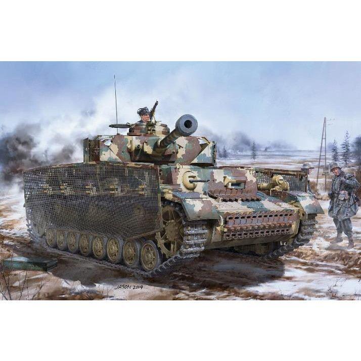 【新製品】BT-008 ドイツ IV号戦車J型 最後期型 w/連結組立可動式履帯