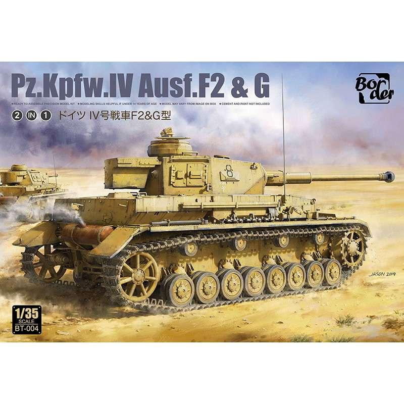 【新製品】BT-004 ドイツ IV号戦車 F2/G型(2in1)