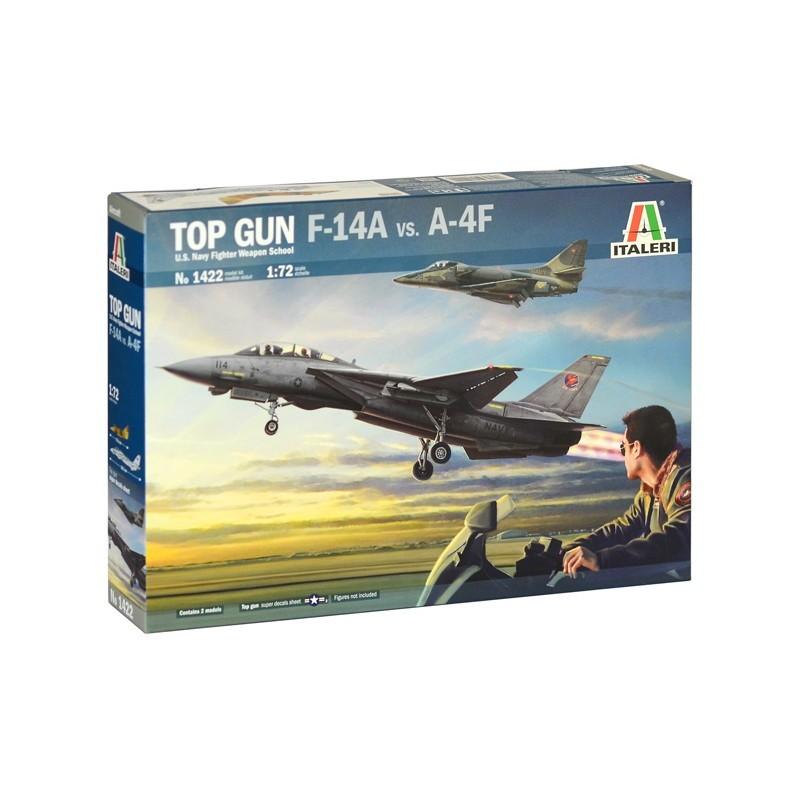 【新製品】1422 トップガン F-14A vs A-4F