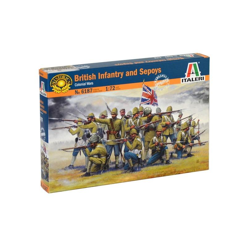 【新製品】6187 植民地戦争 イギリス歩兵 & インド人傭兵