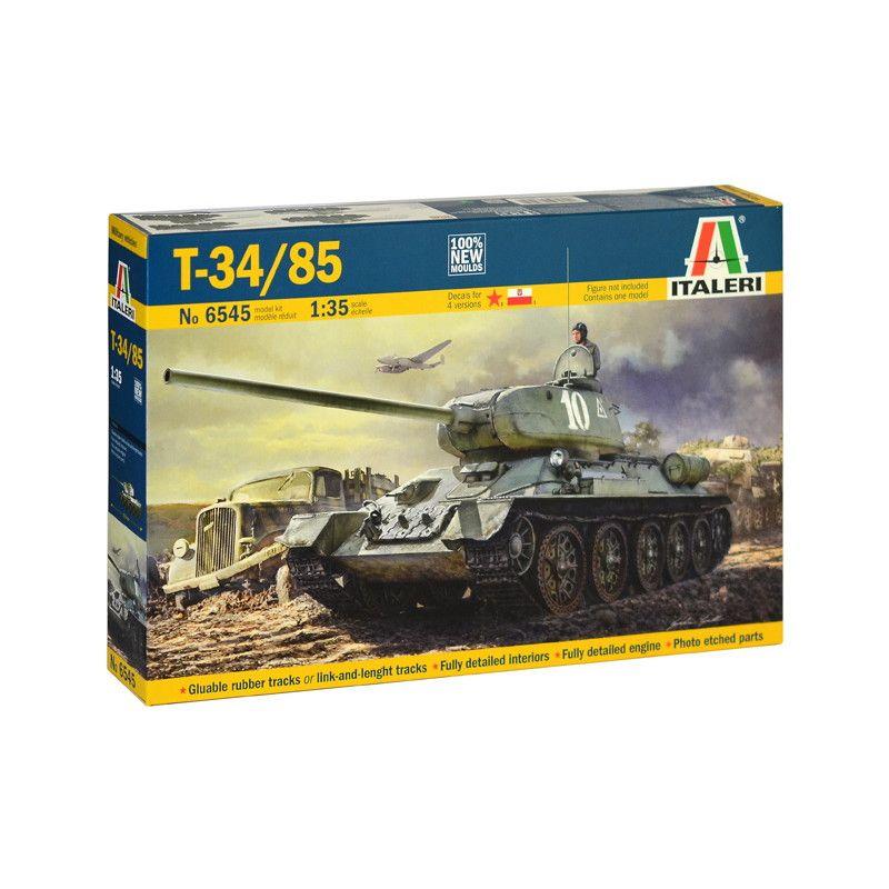 【新製品】6545 ソビエト T-34/85 第183工場製 1944年型 インテリア付 完全新金型