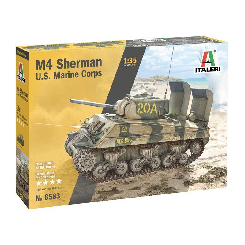 【新製品】6583 M4A2 シャーマン アメリカ海兵隊