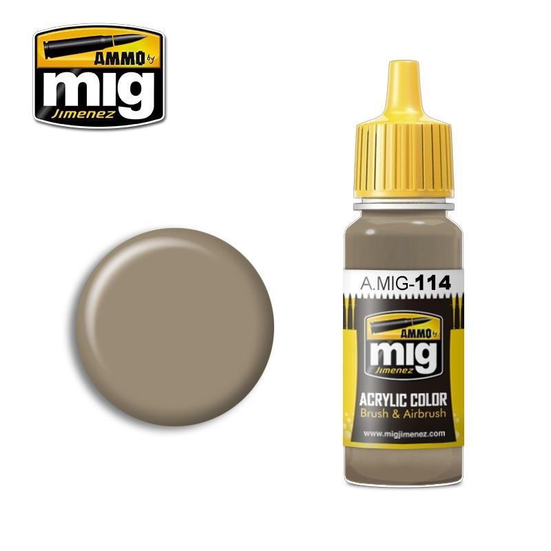 【新製品】A.MIG-114 ツィンメリットオーカー