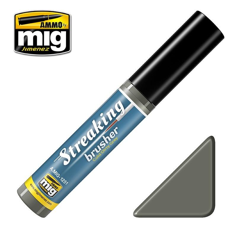 【新製品】A.MIG-1251 ストレーキングブラッシャー・コールドダーティグレイ