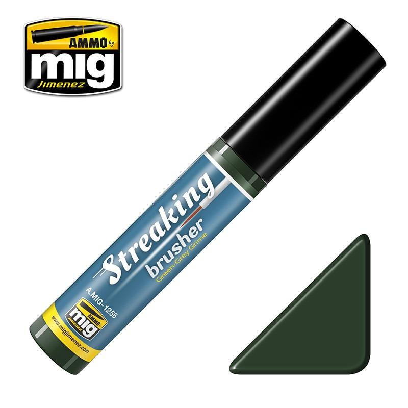 【新製品】A.MIG-1256 ストレーキングブラッシャー・グリーングレイグライム