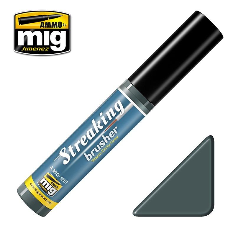 【新製品】A.MIG-1257 ストレーキングブラッシャー・ウォームダーティグレイ