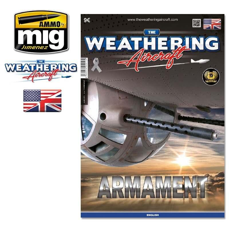 【新製品】A.MIG5210 ウェザリングエアクラフト 第10号 アーマメント武装特集