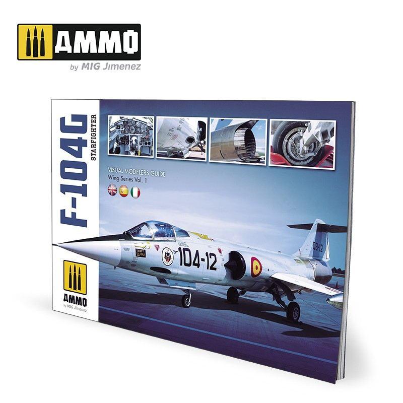 【新製品】A.MIG-6004 F-104G スターファイター ビジュアル モデラーズ ガイド ウイングシリーズ Vol. 1