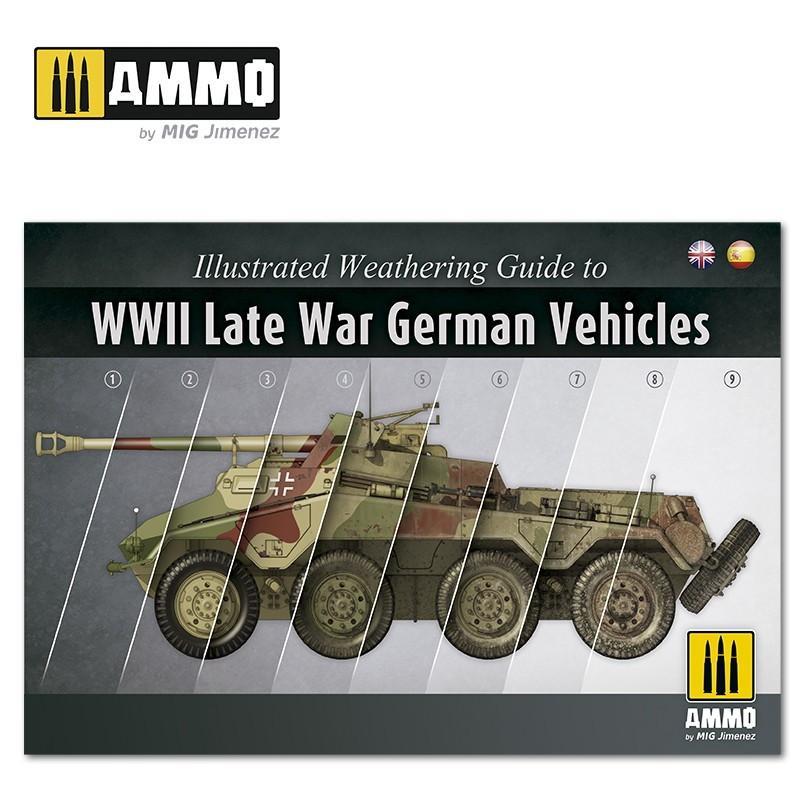 【新製品】A.MIG6015 イラストレーテッドウェザリングガイド WWII後期ドイツ戦闘車輌