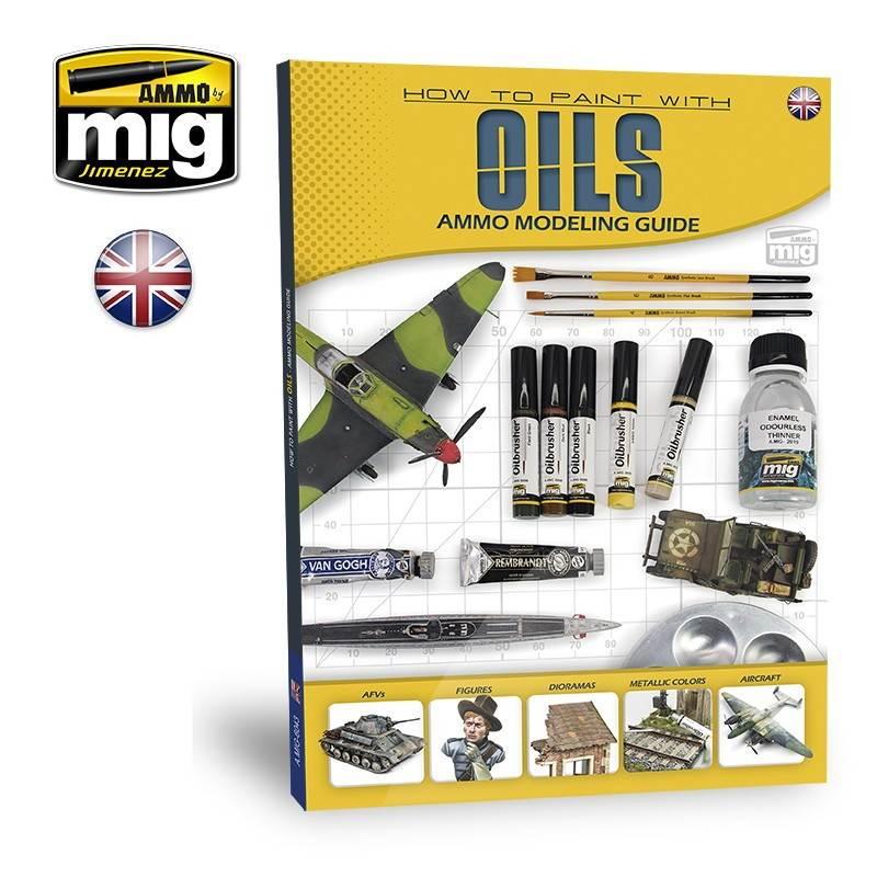 【新製品】A.MIG-6043 モデリングガイド Vol.2:油絵具の使い方