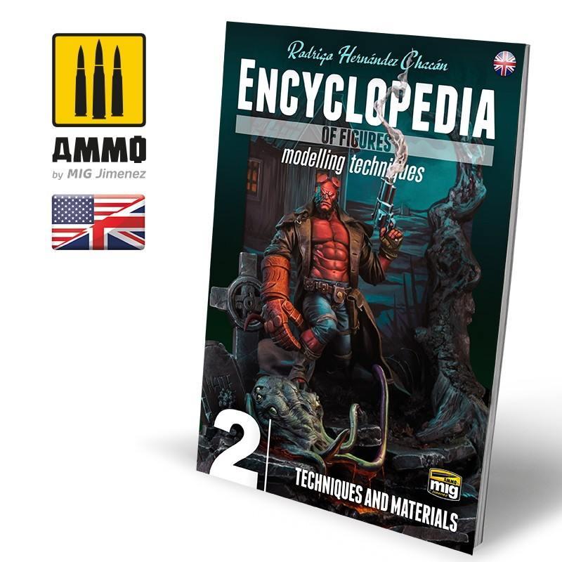 【新製品】A.MIG-6222 エンサイクロペディア・オブ・フィギュア モデリング テクニック Vol. 2: テクニック&マテリアル