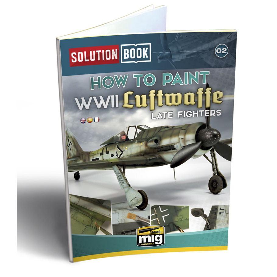 【新製品】A.MIG-6502 ソリューションブック02 WWII ドイツ空軍戦闘機(後期)