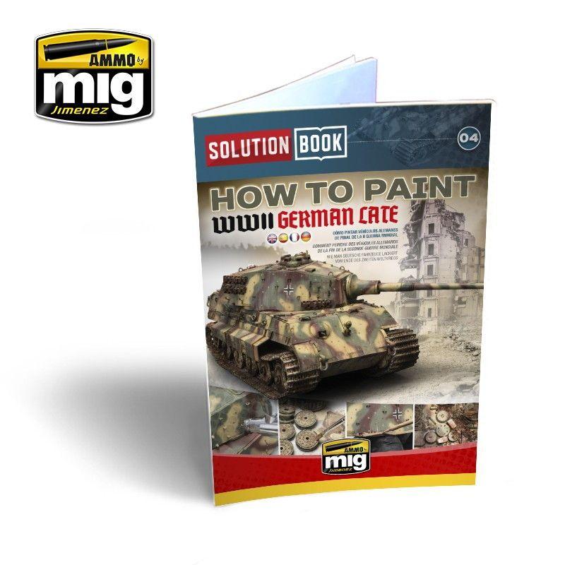 【新製品】A.MIG6503 ソリューションブック:WWII ドイツ軍戦闘車両 (後期)
