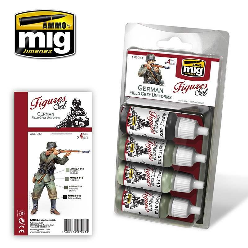 【新製品】A.MIG-7021 WWII ジャーマンフィールドグレイユニフォーム