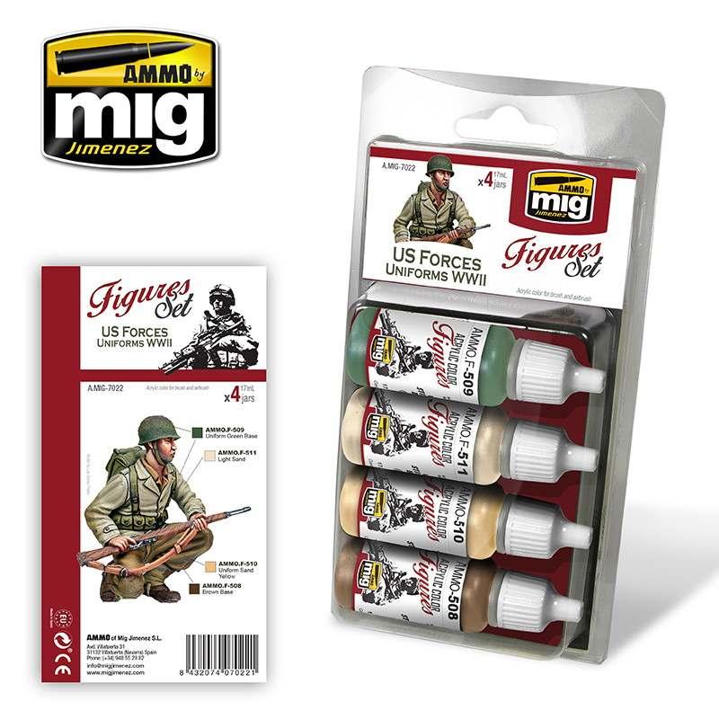 【新製品】A.MIG-7022 WWII アメリカ軍ユニフォーム