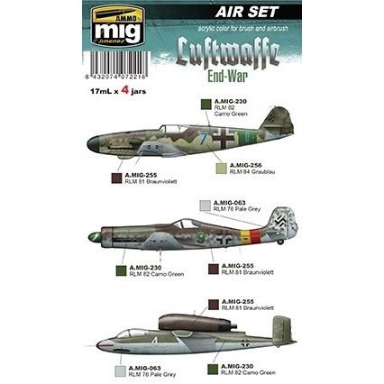 【新製品】A.MIG7221 WWII 独空軍後期カラーセット