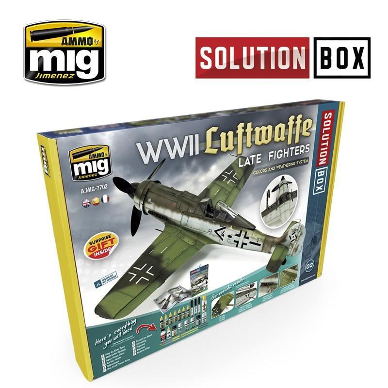 【新製品】A.MIG-7702 ソリューションボックス:WWII ドイツ空軍戦闘機(後期)