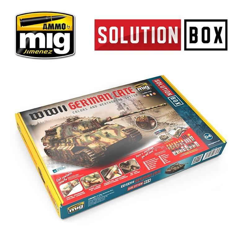 【新製品】A.MIG-7703 ソリューションボックス 04:WWII ドイツ軍戦闘車両 (後期)