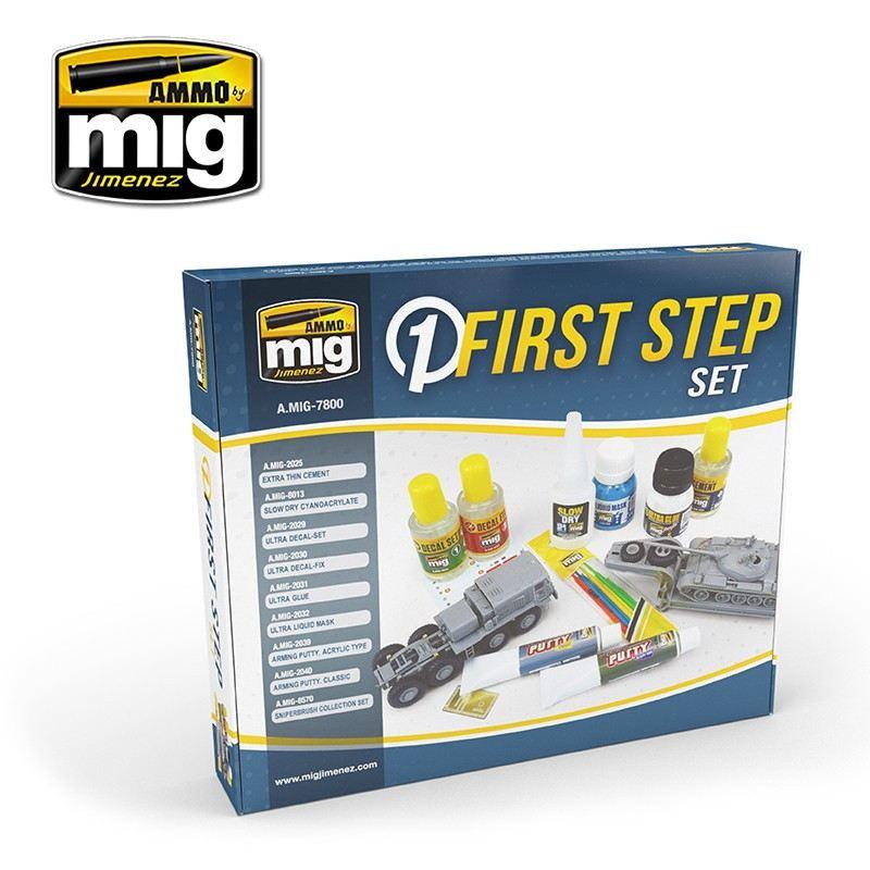 【新製品】A.MIG7800 ファーストステップセット