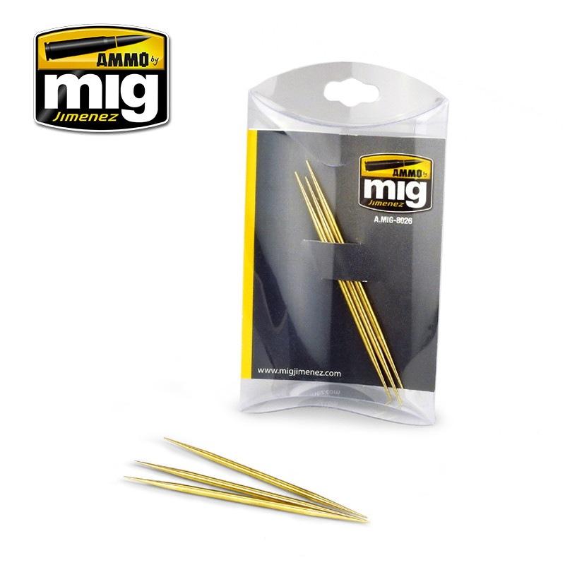 【新製品】A.MIG-8026 真鍮製つまようじセット 3本セット