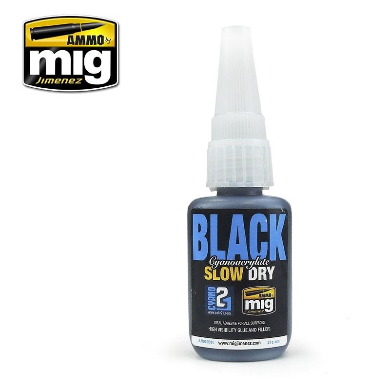 【新製品】A.MIG-8034 瞬間接着剤 (黒/遅乾タイプ)